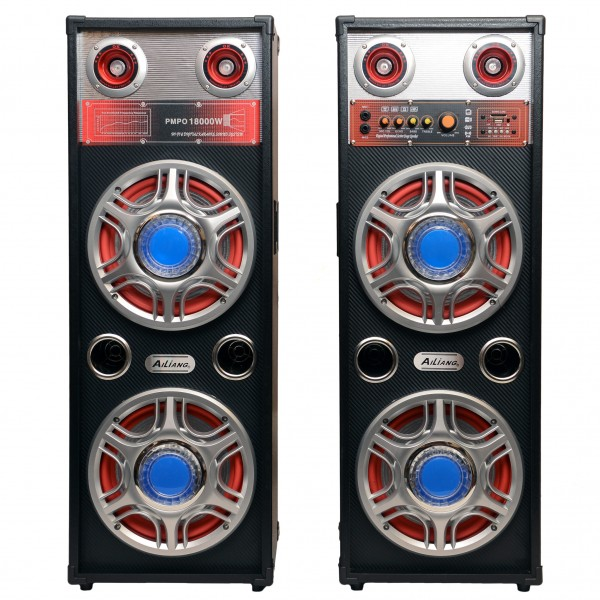 Set boxe active ailiang 600w karaoke.
