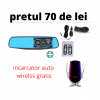 oferta camera auto si incarcator smart wireless gratis