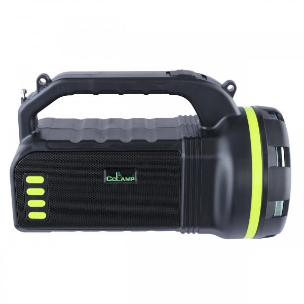 Lanternă 10W Lanternă USB Puternică reîncărcabilă Lumină de lucru Baterie încorporată de 4000 mAh