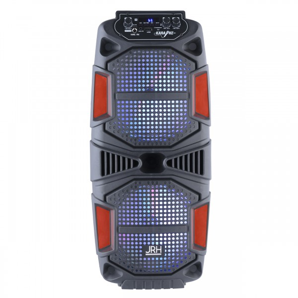 boxa activa jrh A2802 3000W bluetooth Microphone telecomanda