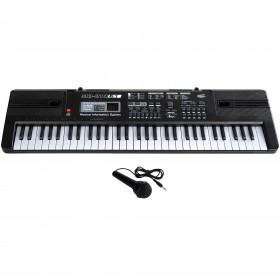 Orga electronica 61 Clape MQ-814 USB Boxe , MP3 ,USB , Microfon