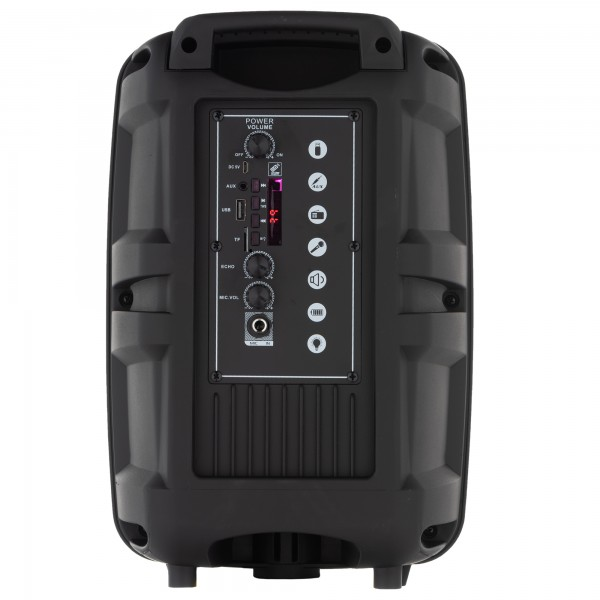 Boxe activa JRH Q8 bluetooth 300W + Camera FHD AUTO