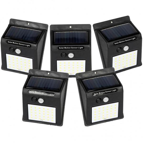 pachet 5 bucati lampa solar de 30 de led