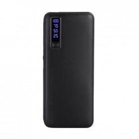 Baterie externa 30 000 mAh, 2x USB, cablu microUSB