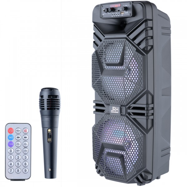 boxa activa jrh A2803 3000W bluetooth Microphone telecomanda
