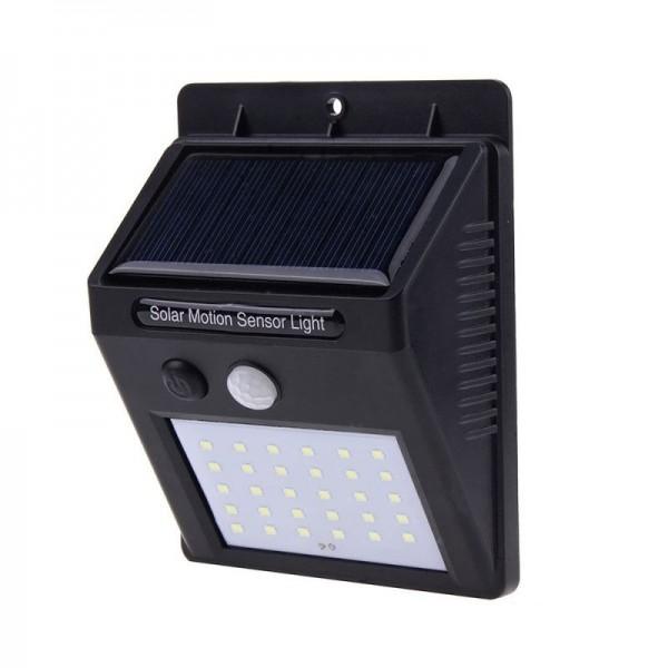 Lampa cu LED incarcare solara si senzor de miscare 30 x LED