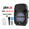 Boxa JRH J8 active 200w bluetooth telecomanda Microphone PLUS Casca cadou.