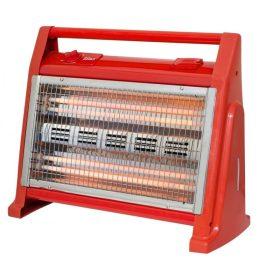 Radiator 1600 W, 4 Tuburi, 2 Trepte de Temperatură, Ventilator ,Quartz