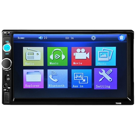 Mp5 player auto 7010b, 2 DIN, Touch screen 7