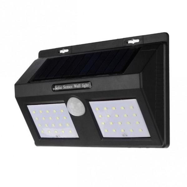 Lampa Cu Incarcare Solara, RES, 40 Leduri Cu Senzor De Lumina Si Miscare