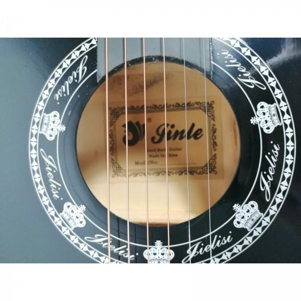 Chitara clasica din lemn 95 cm, Cutaway Country Black