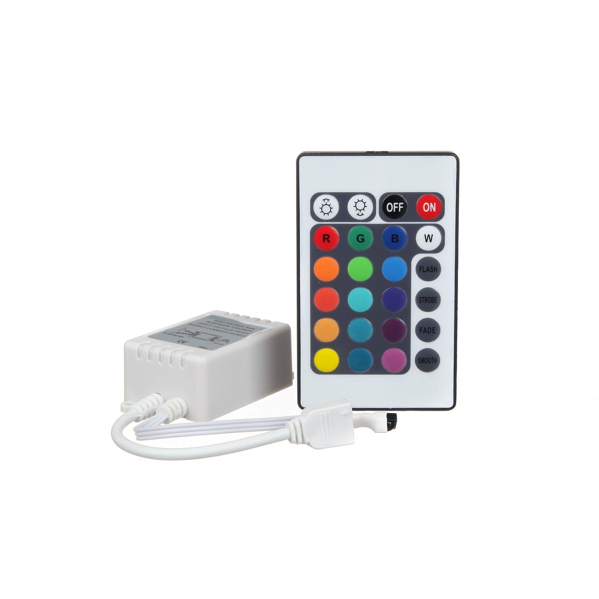 Banda LED RGB , Lungime 3 Metri cu controller