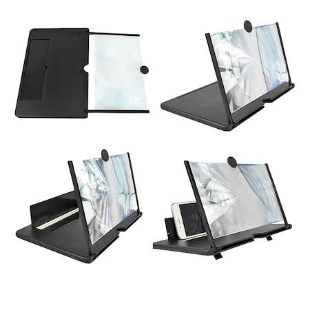 Amplificator imagine cu efect 3D pentru telefoane mobile, ecran de Amplificare Imagine 3D Phone Screen Magnifier