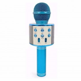 Microfon Karaoke Cu Bluetooth Si Boxa Incorporata