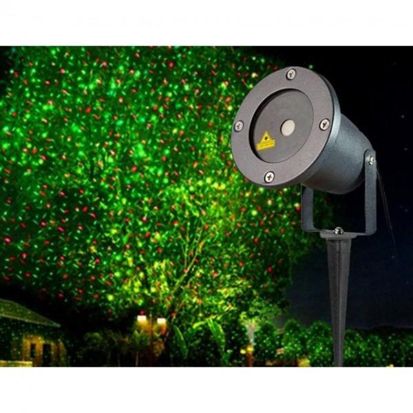 Proiector laser pentru exterior Well PROJ-LSR-RG8-WL