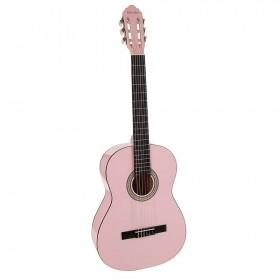 Chitara clasica Salvador pink 95 cm