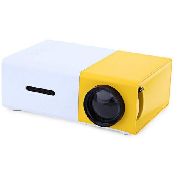 Videoproiector LED Mini Portabil YG300 1080P Full HD